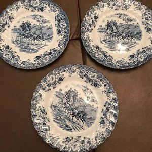 Other - Vintage English bread and butter plates.